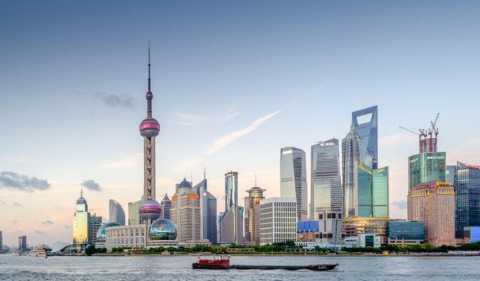 La ciudad china de Shanghai
