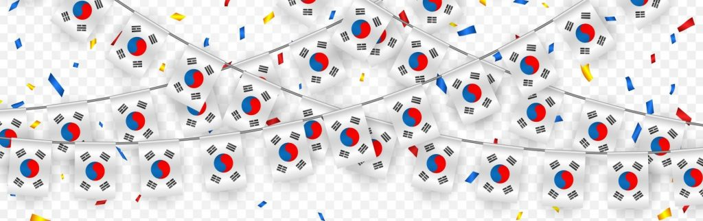 Bandera del idioma coreano
