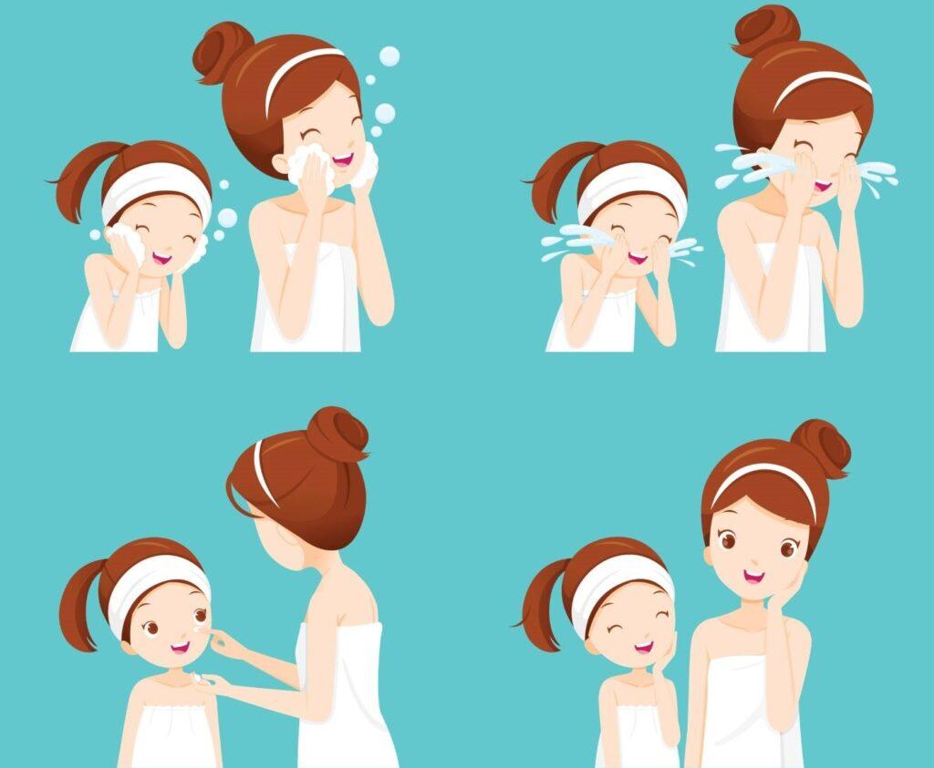 K-beauty madre e hija