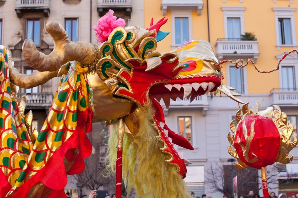 Dragon Dance in Milan