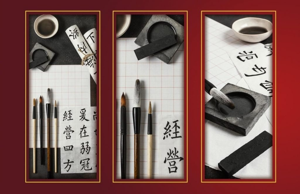 Día de la lengua china-escritura