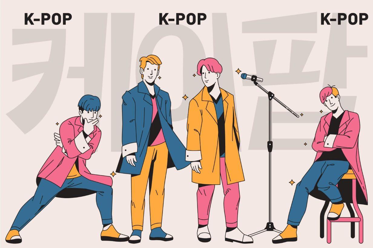 K-pop Korean language
