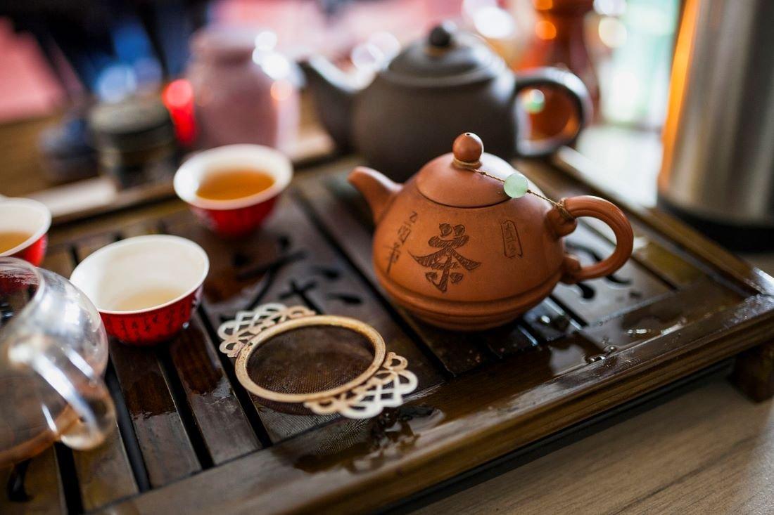 La ceremonia del té de China